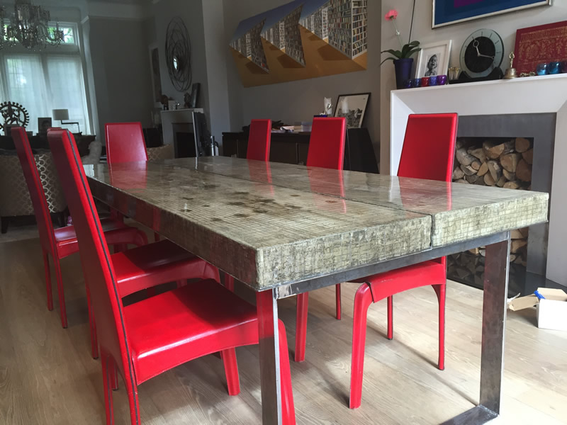 Composite Concrete Table