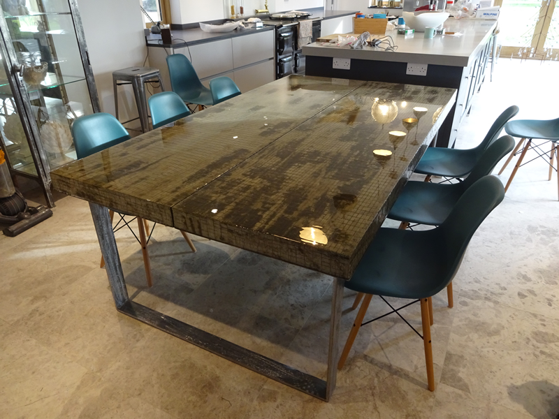 Composite Concrete Dining Table