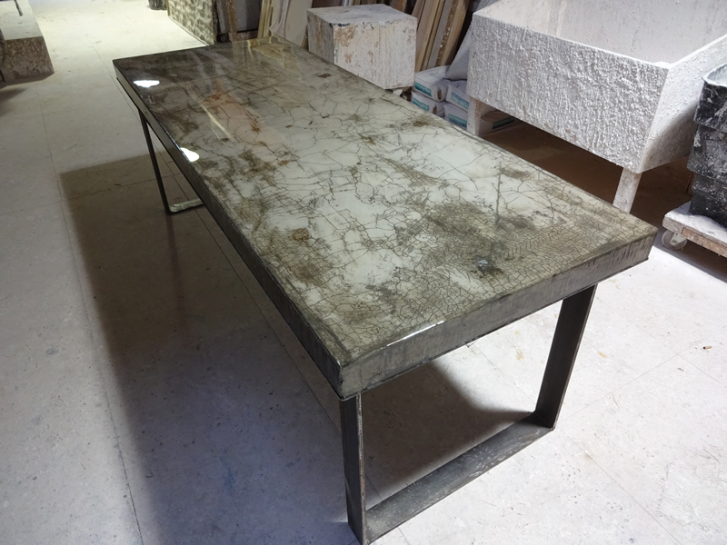 concrete top dining table. Concrete Dining Table Top C