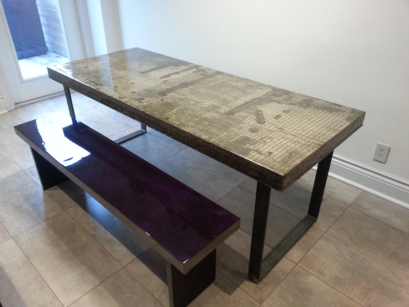 Concrete Kitchen Table Concrete Table Modern Dining Tables Other By Jm